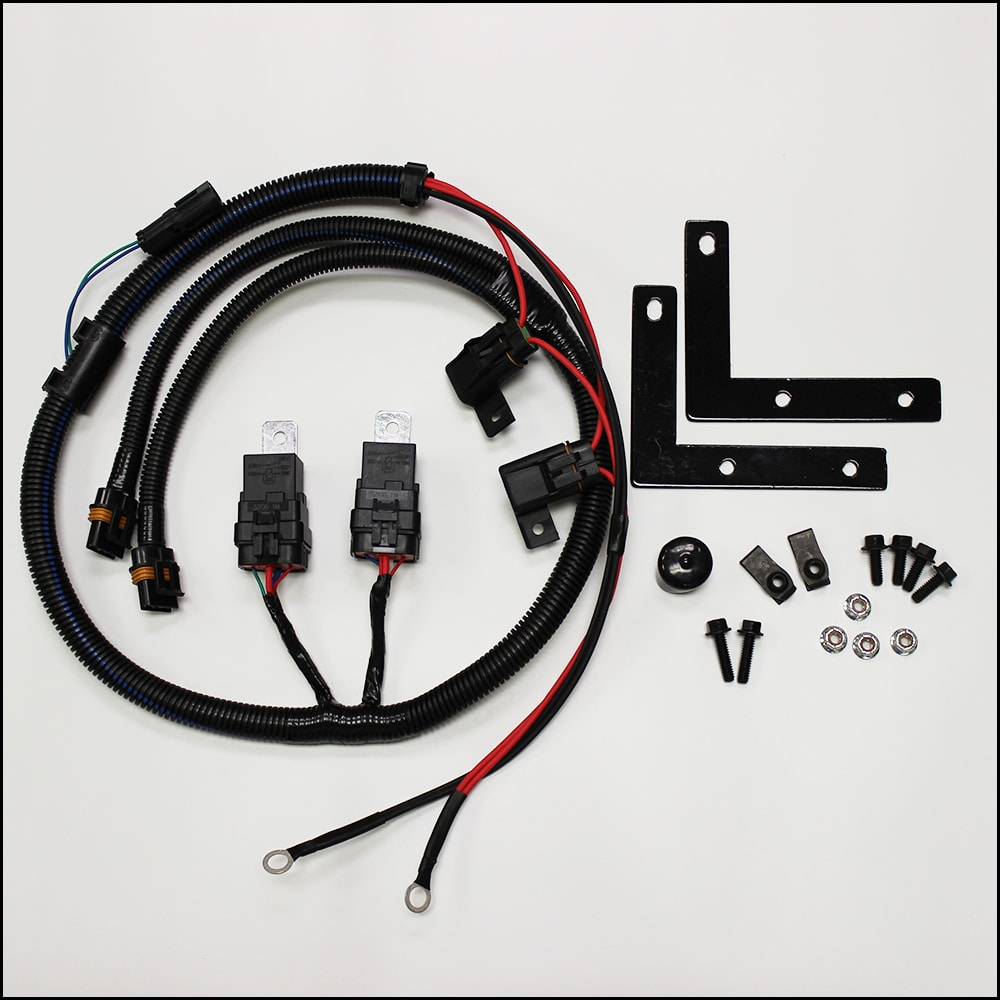 Ls1 Electric Fan Wiring Harness Start Building A Diagram Swap Trailblazer Gmt 360 V8 Two Relay Conversion Kit Pcm Of Rh Pcmofnc Com Modification Pinout