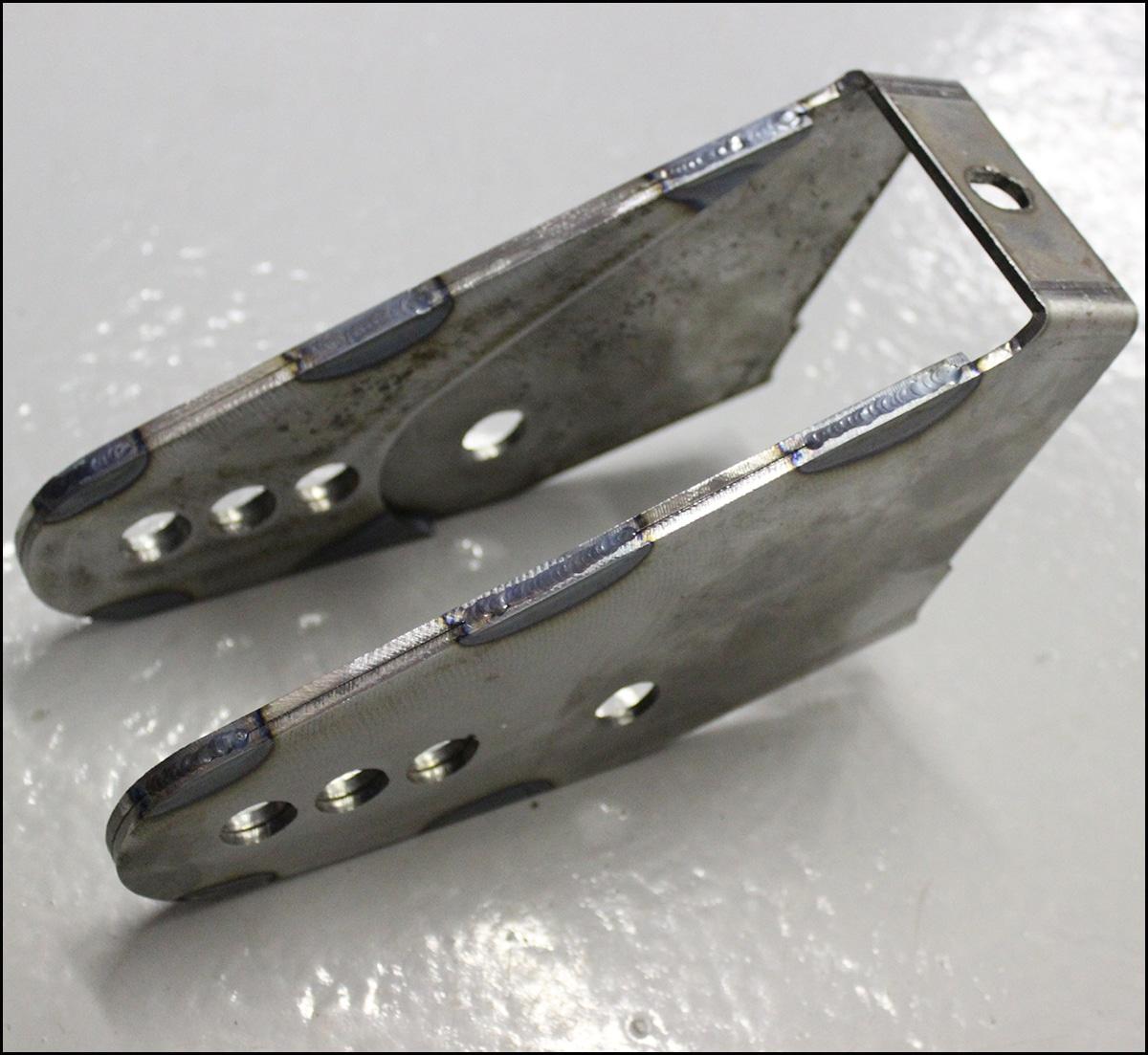 Trailblazer SS/5.3L Lower Control Arm Relocation Brackets ...