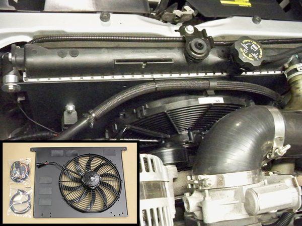 Hummer H3 Complete Electric Fan Kit