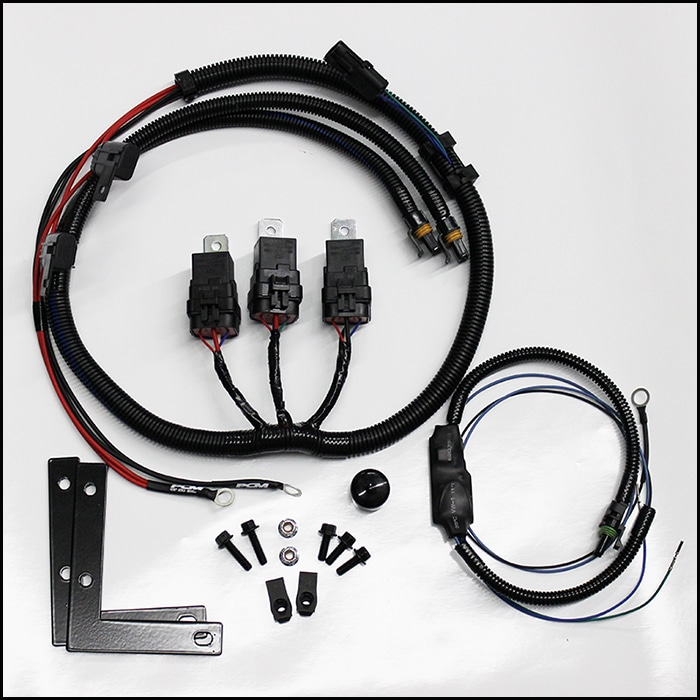 1999-2002 Full Size Truck Dual Fan Conversion Kit