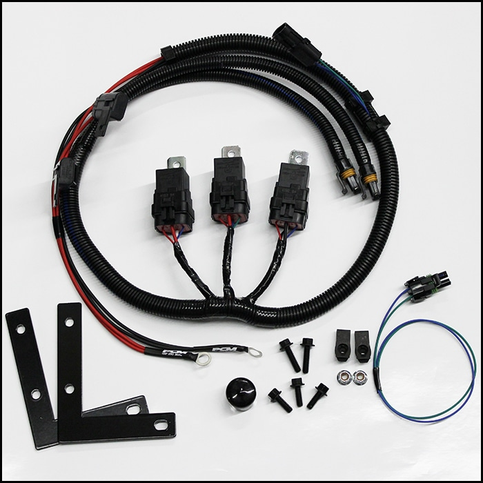 TrailblazerGMT 360 V8 Three Relay LS1 Fan Conversion Harness – Ls1 Cooling Fan Wiring Harness