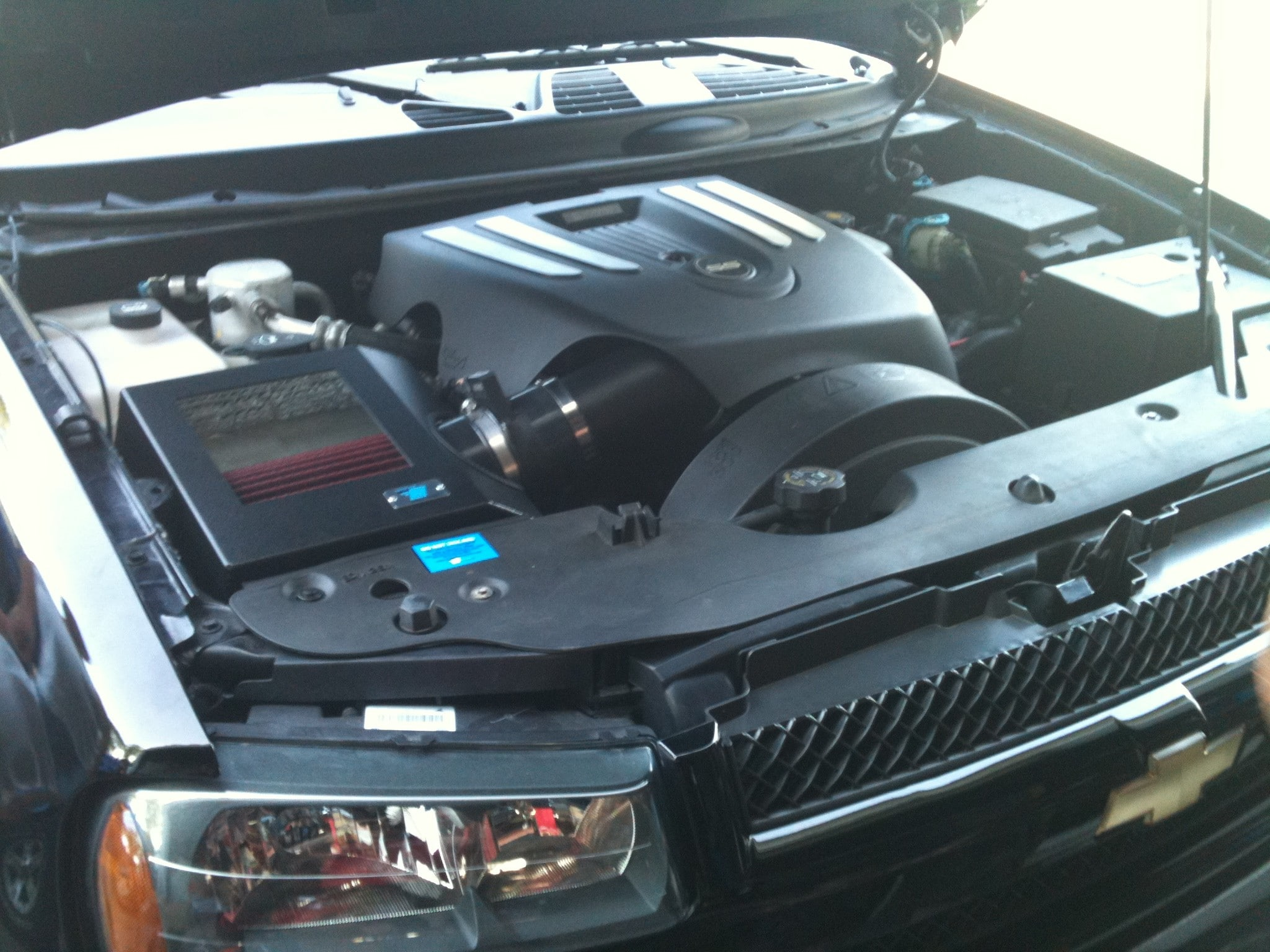 cold air inductions 2005 2009 trailblazer ss intake system pcm of nc inc. Black Bedroom Furniture Sets. Home Design Ideas