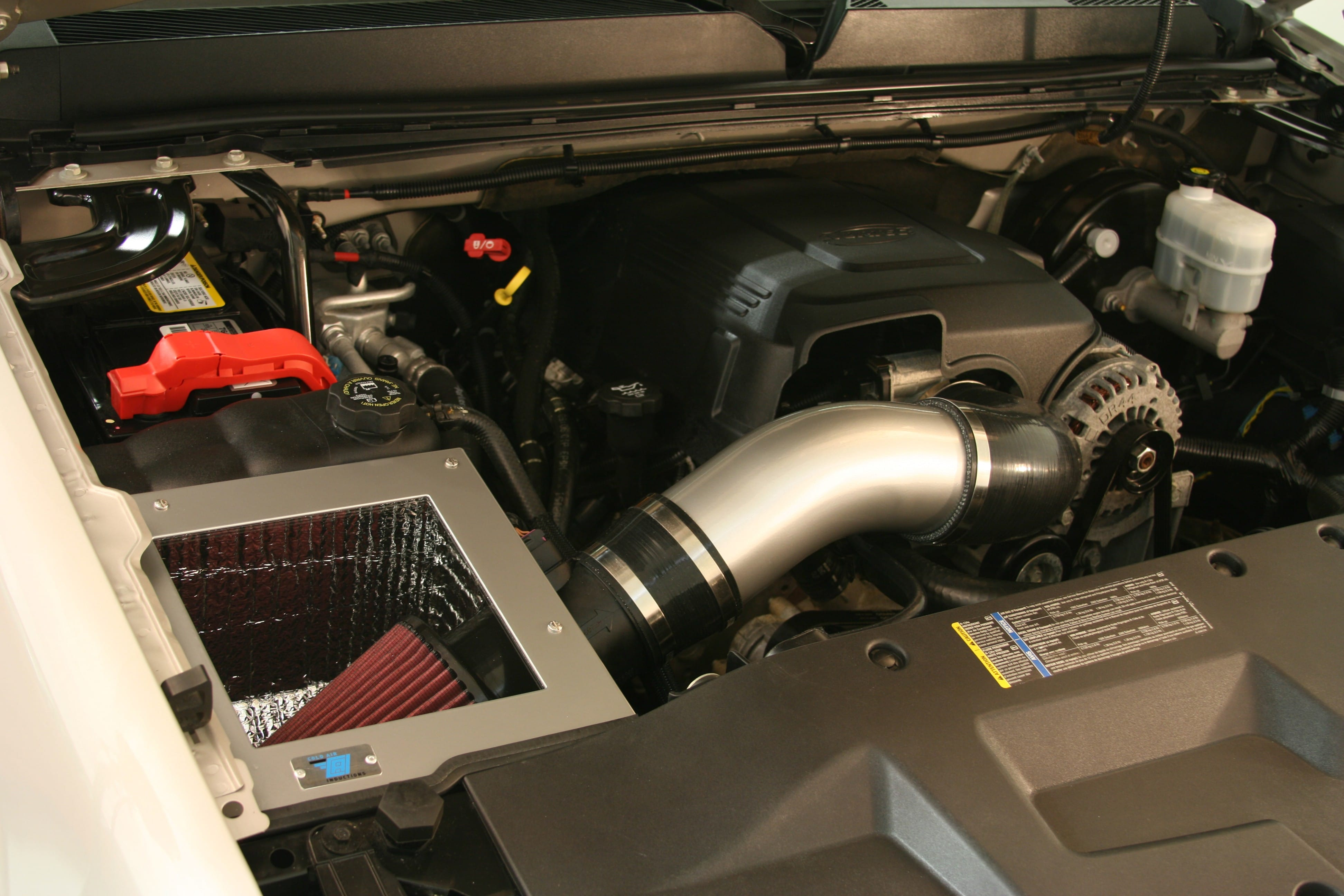 Cold Air Inductions 2007-2008 6.2L GMC Sierra Denali Intake System – PCM of NC, Inc.